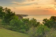 Large Bali cliff front land 1500m2 freehold for sale dreamland views: