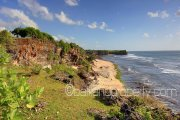 Pure Bali cliff front land for sale stunning views Bali property investment