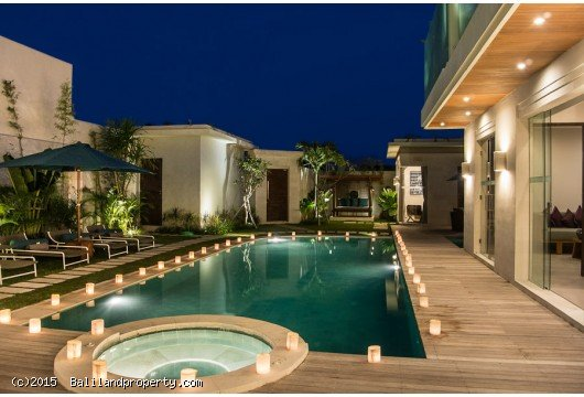 Seminyak contemporary villa 4 bedroom profitable rental