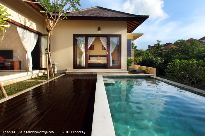 Good priced 2 bedroom villa with Bukit views