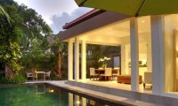 Contemporary 2 bedroom Seminyak villa: