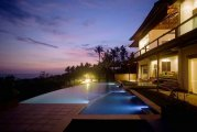 Bali luxury beachfront freehold villa for sale 5 bedroom estate