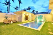 Bali Seminyak villa property for sale 3 bedrooms modern designed: