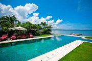 Luxury Bali waterfront villa 3 bedrooms jetty freehold real estate