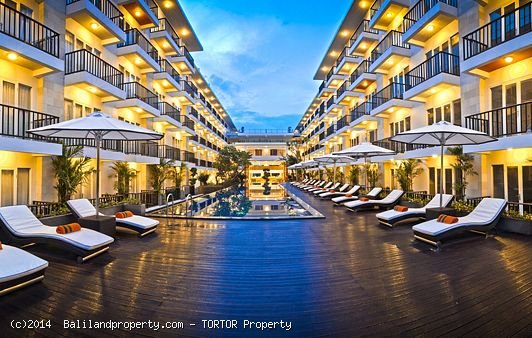 Freehold Jimbaran 4* Hotel for sale 245 rooms