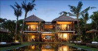 Beachfront Bali freehold property 5 bedrooms private beach jacuzzi cinema
