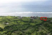Bali cliff land for sale on millionaires row 49m cliff frontage: