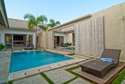 Villa Seminyak Legian 2 bedroom holiday villas investment 85 percent occupancy: